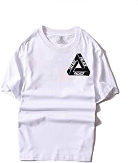 df4a73eb nicesale Palace Skateboards t Shirt 100% Cotton Palace Monochrome Triangle t  Shirt Men Women