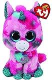Ty UK Ltd 36313 Gumball Unicorn - Peluche Beanie Boos, Multicolor, 15 cm