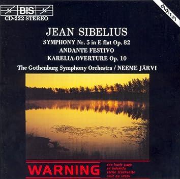 Sibelius: Symphony No. 5 / Karelia Overture / Andante Festivo
