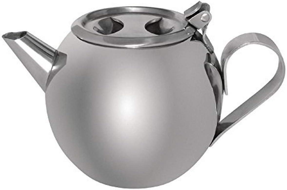 Cuisinox Tea 1000 Stackable Teapot Silver Amazon Ca Home Kitchen