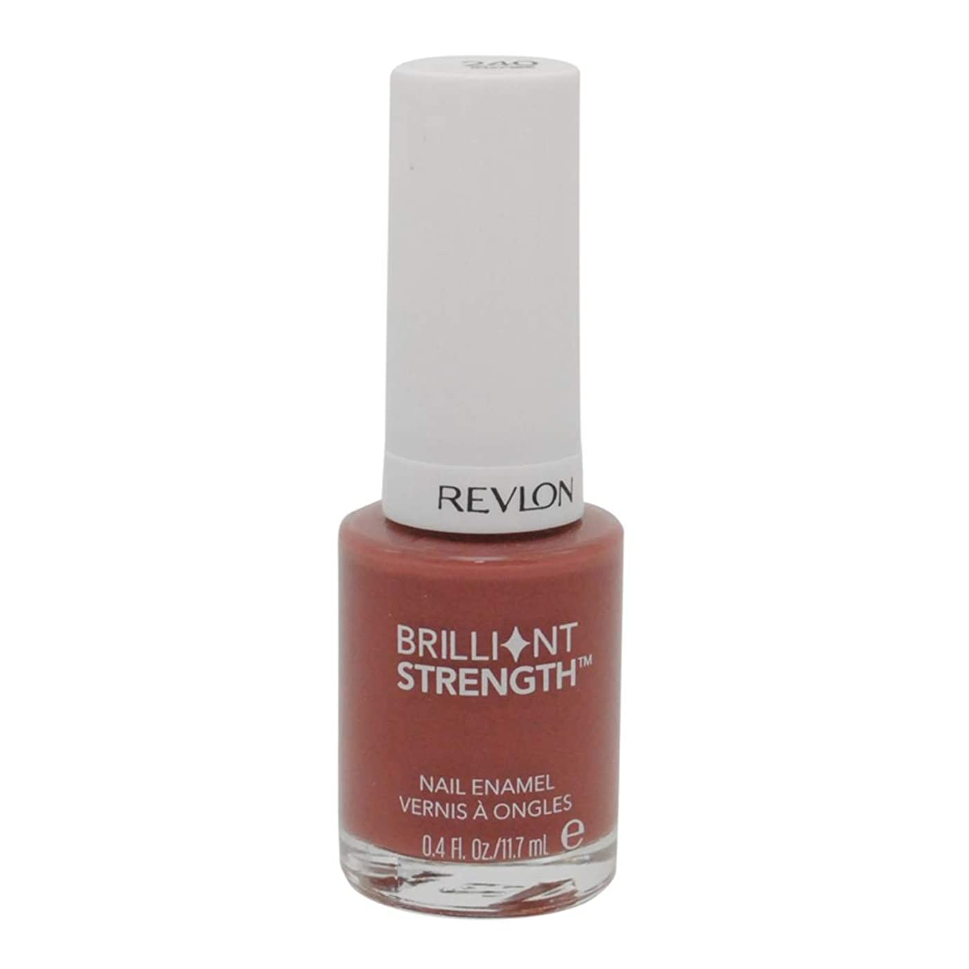 大モートビリーヤギREVLON BRILLIANT STRENGTH NAIL ENAMEL #240 INSPIRE