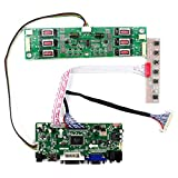 HDMI DVI VGA Audio LCD Board for 20.1inch 1680x1050 M201EW01 V0 LTM201M2-L02 LM201WE3-TLB1 30Pin LVDS Interface LCD Screen