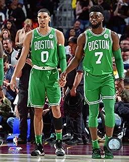 Jayson Tatum & Jaylen Brown Boston Celtics 2017-18 NBA Action Photo (Size: 11