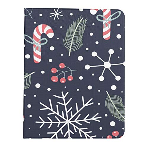 Case For Ipad Pro 11' 2020/2018 With Pencil Holder,smart Lightweight Soft Tpu Back Premium Protective Case Cover With Auto Sleep/wake Feature,Holiday Christmas Candies Snoflakes