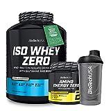 Biotech Usa Iso Whey 2kg Chocolate + Amino Energy Zero + Batidor