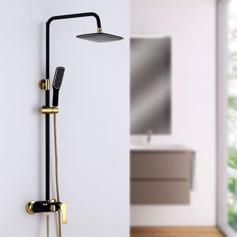 LHW Shower Set chset, neu, schwarzes Gold, Duschset, Kupfer, Dusche, hei, europisches, schwarzes Gold Duschset, Wanddusche