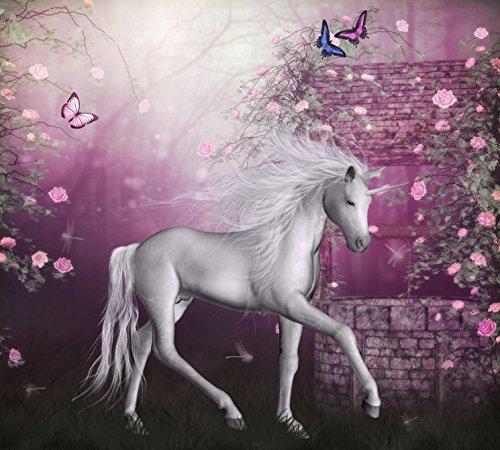 Last Unicorn Edible Cake Image Topper 1/4 Sheet
