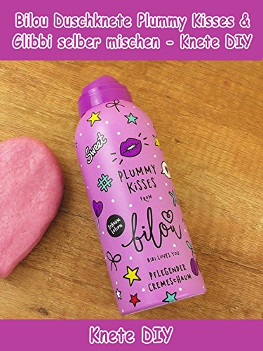 Clip: Bilou Duschknete Plummy Kisses & Glibbi selber mischen - Knete DIY