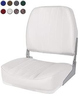 XGEAR Low Back Boat Seat, Fold-Down Fishing Boat Seat