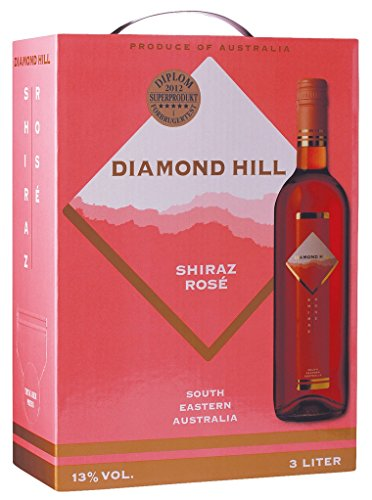 Diamond Hill - Shiraz Rosé Wein 13% Vol. - 3l Bag-in-Box