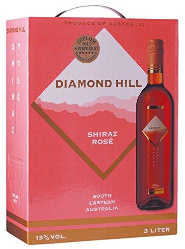 Diamond Hill - Shiraz Rosé Wein 13% Vol. - 3l Bag-in-Box
