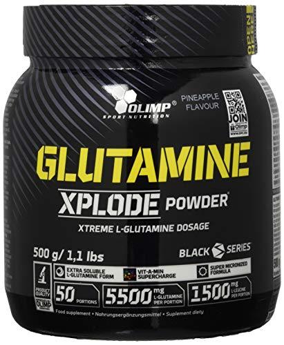 Olimp L-Glutamine Explode Powder, Ananas, 500 g