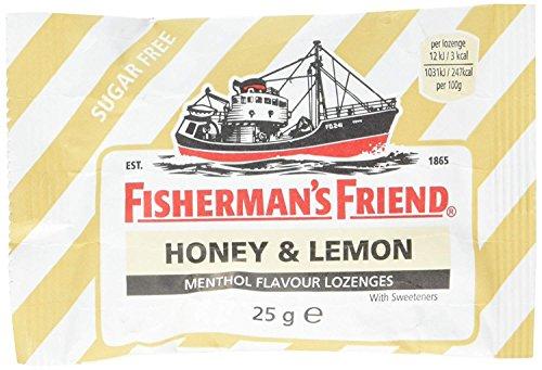 Fishermans Friend Honey & Lemon Menthol Flavour Lozenges 25g by Fishermans Friend