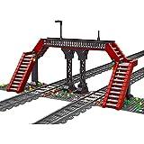 WWEI Mould King 12008 - Juego de accesorios para tren, 665 piezas, compatible con Lego