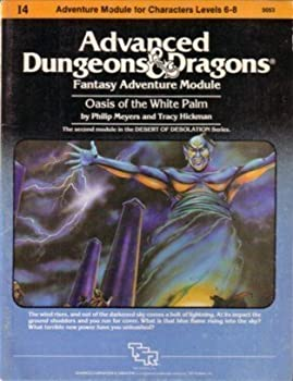I4 Oasis of the White Palm - Book  of the Advanced Dungeons and Dragons Module #C4