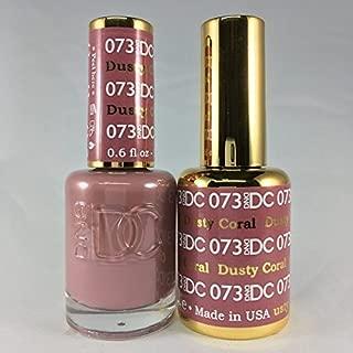 dusty coral nail polish