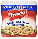 French's ORIGINAL French Fried Onions-3 (three) 6oz cans