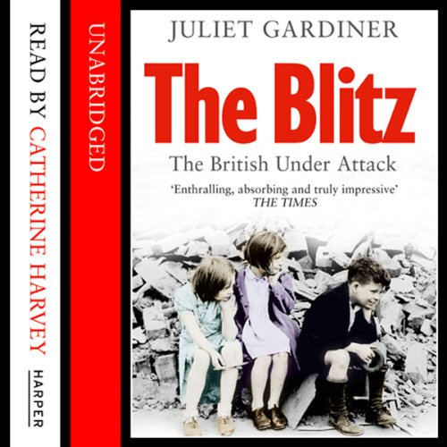 The Blitz audiobook cover art