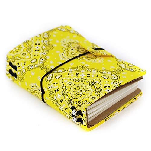 Planner pererecatômica Compacto Estilo Midori India Amarelo