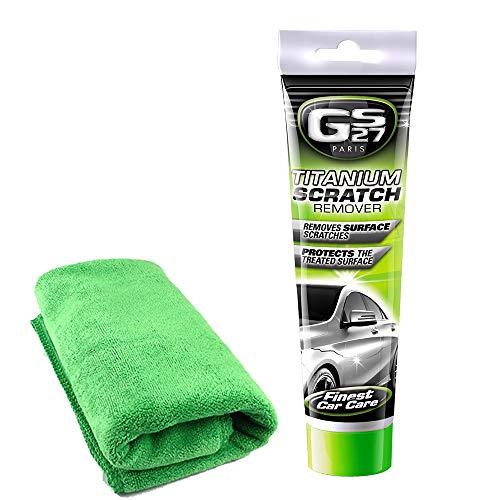 GS27 Paris Titanium+ Automotive Scratch Remover | for Car Paint...