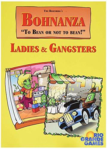 Rio Grande Games BOHNANZA: señoras y Gangsters expansión