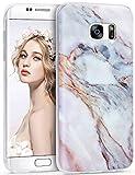 Galaxy S7 Edge Case, Imikoko™ S7 Edge Marble Case Slim
