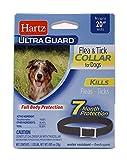 Hartz UltraGuard Black Flea & Tick Collar for Dogs & Puppies - 20' Neck, 7 Month Protection