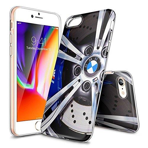 iPhone 7 Covers,iPhone 8 Covers, [KSHFFFDKS00195] Trasparente Cancella Soft TPU Gel Cover per iPhone 7,iPhone 8 [4.7'][Transparent], Covers Xin TM