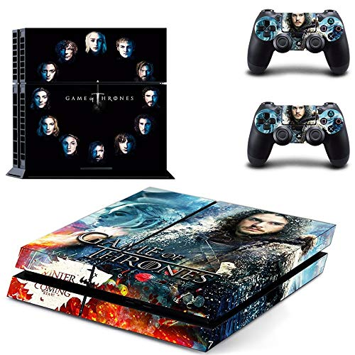 FENGLING Aufkleber Game of Thrones 8 Ps4 Skin Vinilo Ps 4 Aufkleber Play Station 4 Pegatina Für Sony Playstation 4 Console & Controller Skins