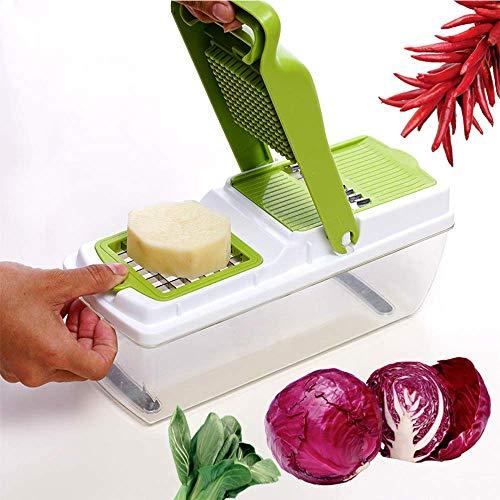 Keukenrasp CS-PS Manual huishouden groente/Roestvrij staal en slijpen plakken sap (Color : As photo, Size : -)