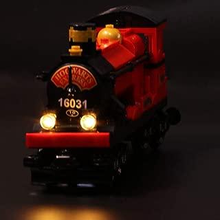 RAVPump LED Lighting Kit for Harry Potter Hogwart's Express Blocks Model - LED Light Set Compatible with Lego 4841 ( Lego Set not Included )