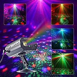 Image of Party Lights, RGB 3 Lens DJ...: Bestviewsreviews