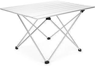 DX Folding Camping Table, outdoor reizen, aluminium legering, draagbare picknicktafel, huis en outdoor dual-use type, drie...