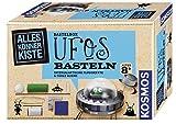 KOSMOS 604127 - AllesKönnerKiste UFOs basteln. DIY-Bastelset für Mädchen und Jungen ab 8 Jahren. Das ideale Geschenk-Set für den Kindergeburtstag -