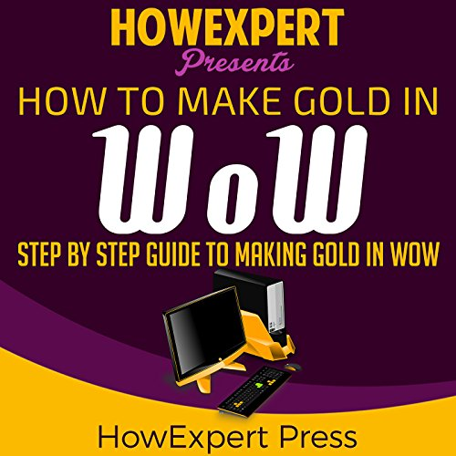 How to Make Gold in WoW audiobook cover art