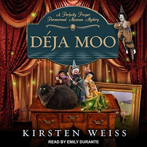 Déja Moo audiobook cover art