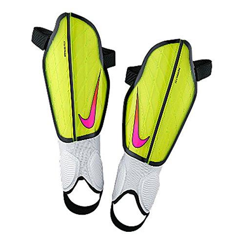 Nike Adult Protegga Flex Attack Soccer Shin Guards (Small, Volt)