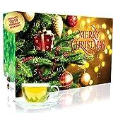 C&T Tee-Adventskalender 2019 mit 24 losen Grüntees - edle Tee-Sorten à 20 g für je 4 Tassen (1...