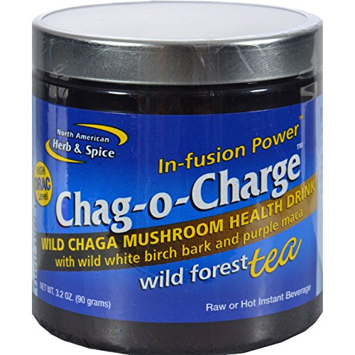 North American Herb and Spice Chag-o-Charge Expresso - Source of Antioxidants - 3.2 oz (Pack of 2)