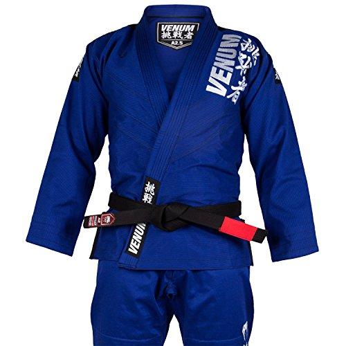 Venum Challenger 4.0 BJJ Kimono, Hombre, Azul, A4 (XL/XXL)