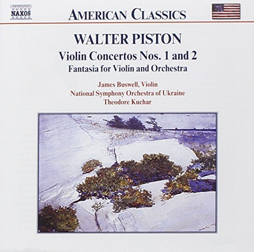 Piston: Violin Concertos Nos. 1 and 2; Fantasia Concertos