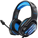 Cuffie da Gaming con Microfono, Cuffie Gaming PS4, Cuffie da Gioco con 3.5mm Jack LED,...