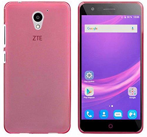 Tumundosmartphone Funda Gel TPU para ZTE Blade A510 Color Rosa