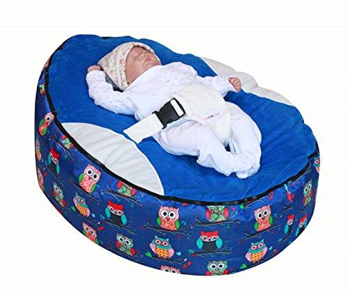 chouettes Pouf pour bébé Snuggle Lit avec Filling-uk vendeur