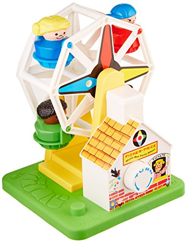 Basic Fun Fisher-Price Musical Ferris Wheel Toy