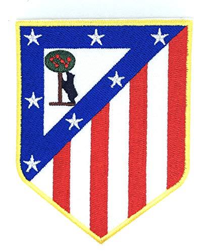 Gemelolandia Parche Bordado Termoadhesivo Atletico de Madrid Escudo Antiguo 9x7 cm