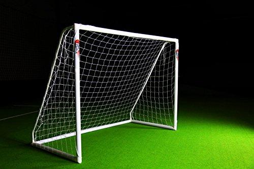 Netsportique Super Offerta! Porta da Calcio POWERSHOT  PRO 3 x 2 m in PVC e Anti UV con 2 Anni di Garanzia