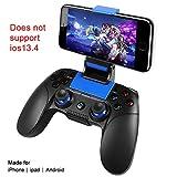 controller mobile senza fili pg8718 per pubg, gamepad wireless supporto for ios android iphone ipad samsung galaxy altro telefono