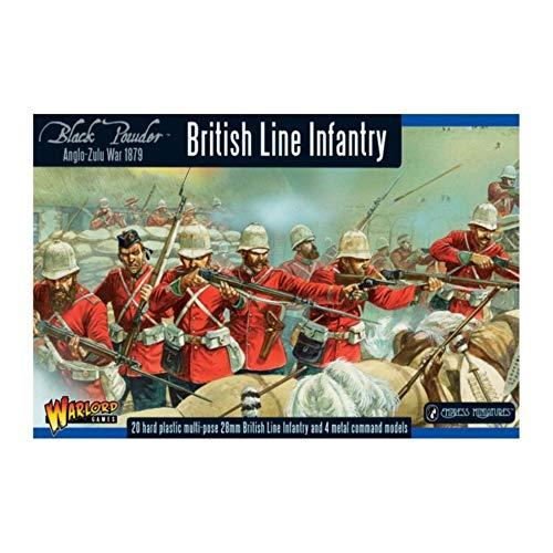 Black Powder (azw) British Line Infantry Regiment Box - Plastic