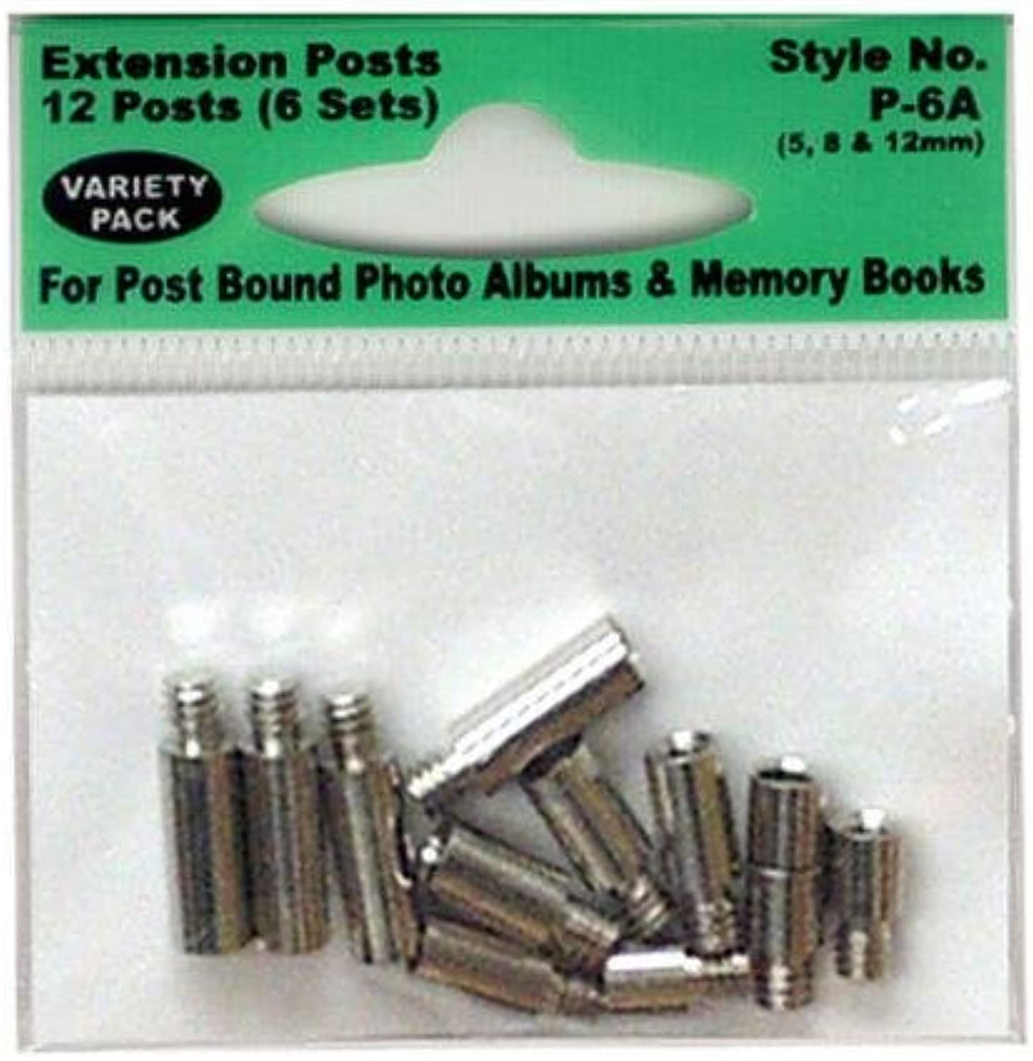 Pioneer P6A Variety Pack Extension Posts 5& 44; 8 and 12mm12 Posts 4 Sets